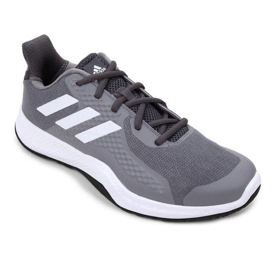 Tênis Adidas Fitbounce Trainer Masculino - Cinza+Branco