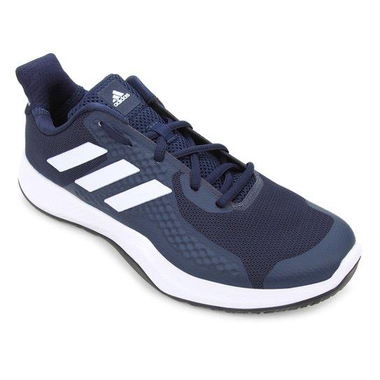 Tênis Adidas Fitbounce Trainer Masculino - Marinho+Branco