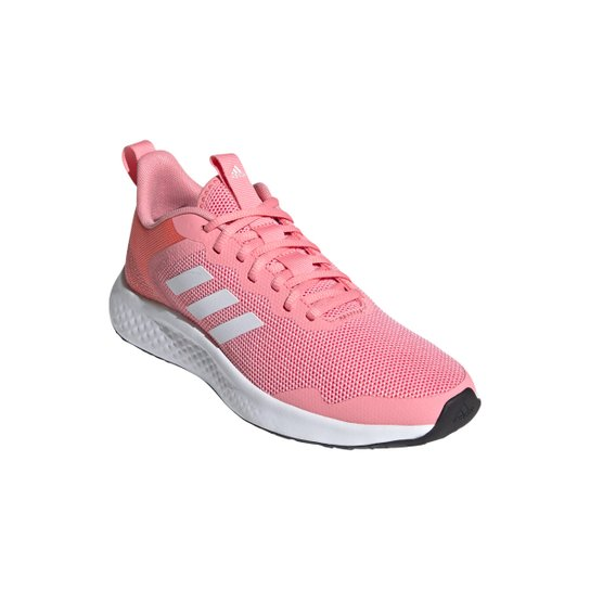 Tênis Adidas Fluidstreet Feminino - Rosa+Branco