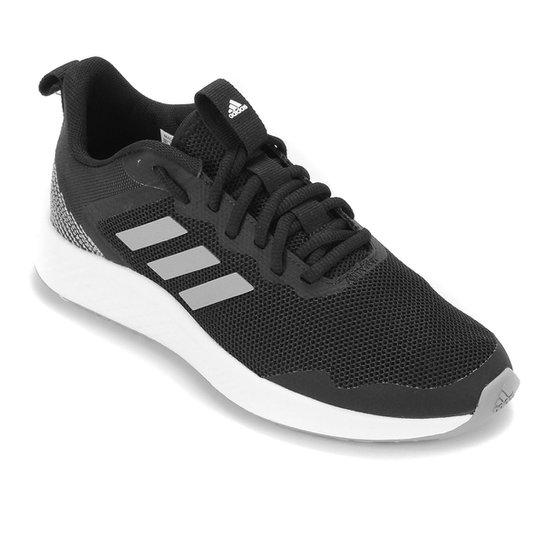 Tênis Adidas Fluidstreet Feminino - Preto+Cinza