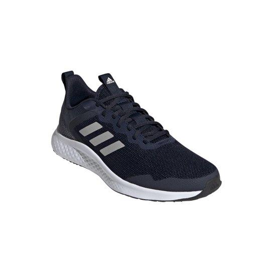 Tênis Adidas Fluidstreet Masculino - Marinho+Branco