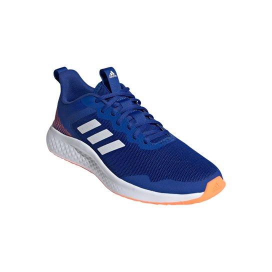 Tênis Adidas Fluidstreet Masculino - Azul Royal+Branco
