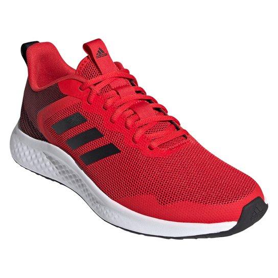 Tênis Adidas Fluidstreet Masculino - Vermelho+Preto