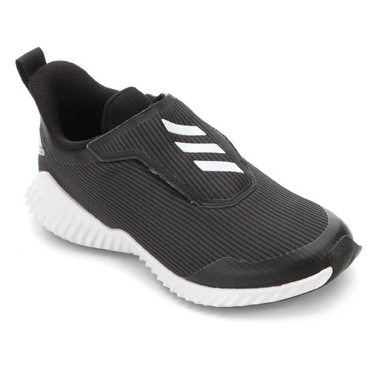 Tênis Adidas Fortarun AC K Infantil - Branco+Preto
