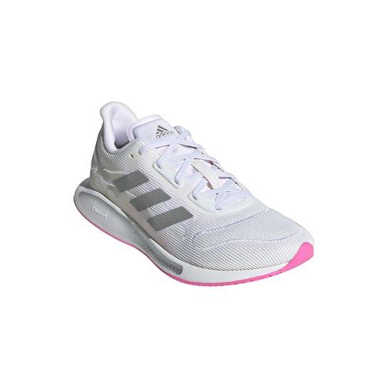Tênis Adidas Galaxar Run Feminino - Branco+Preto