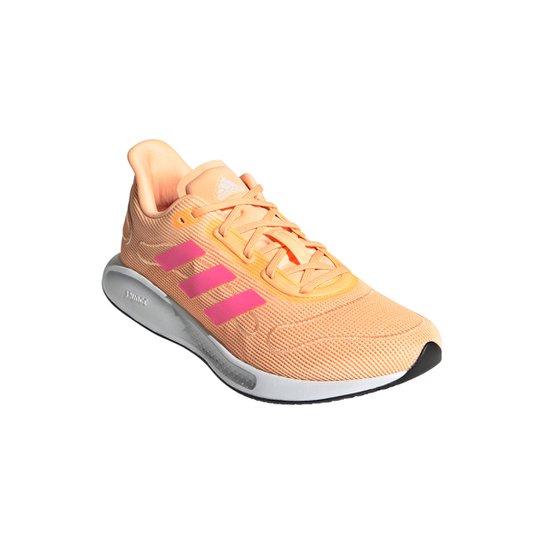 Tênis Adidas Galaxar Run Feminino - Laranja+Branco