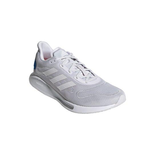 Tênis Adidas Galaxar Run Masculino - Cinza+Branco