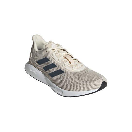 Tênis Adidas Galaxar Run Masculino - Prata+Azul