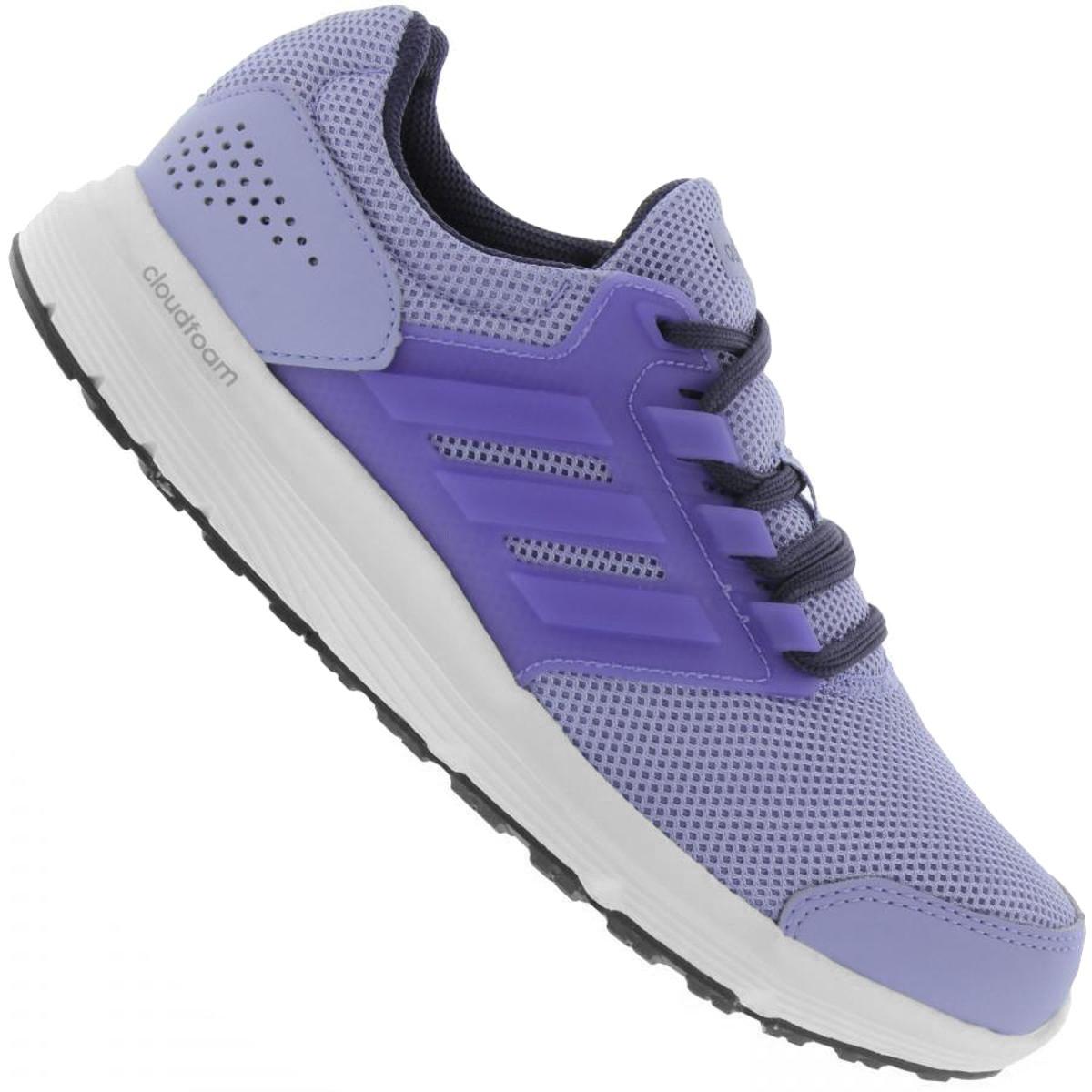 a83bf3ce5d2 Tênis Adidas Galaxy 4 Feminino - Azul - Compre Agora