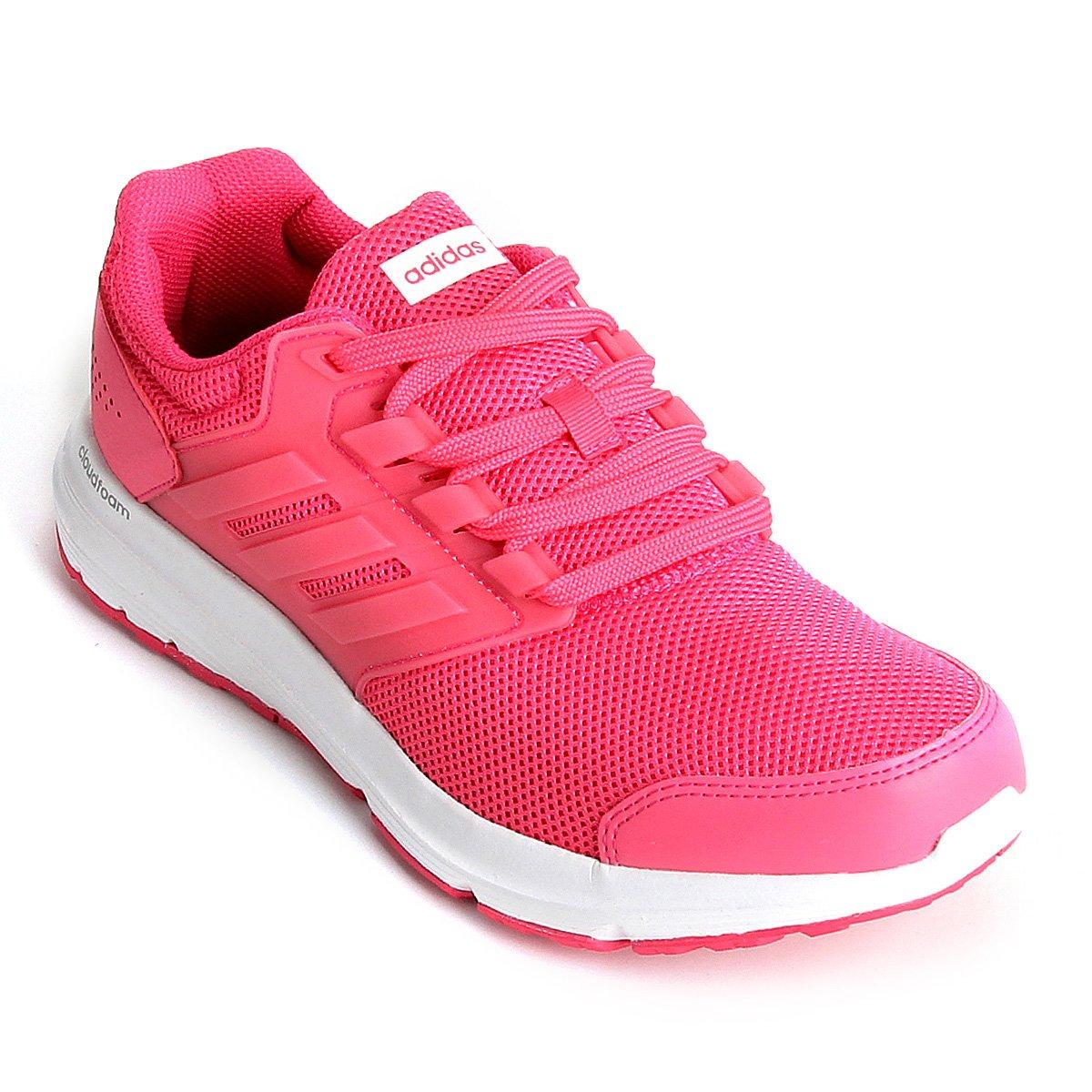 df9c0587be Tênis Adidas Galaxy 4 Feminino - Rosa - Compre Agora