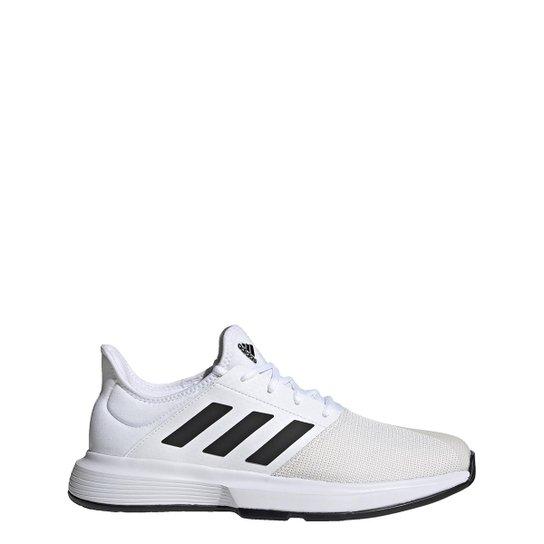 Tênis Adidas Gamecourt Masculino - Branco+Preto