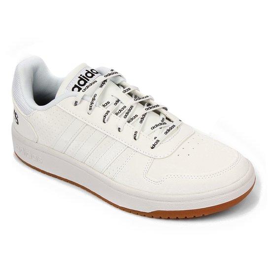 Tênis Adidas Hoops 2 0 Masculino - Off White