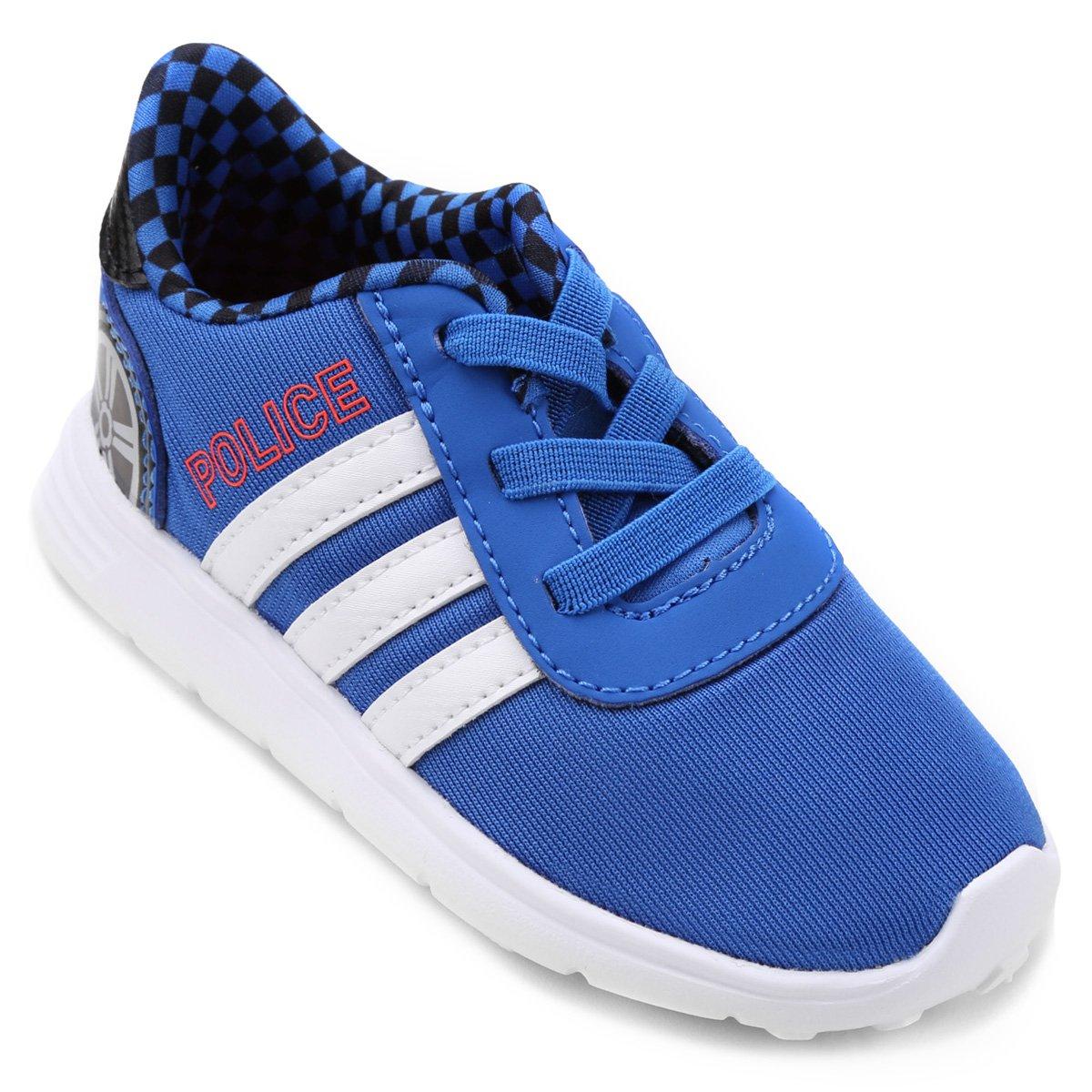 3cb49f901f1 Tênis Adidas Lite Race Police Infantil - Compre Agora