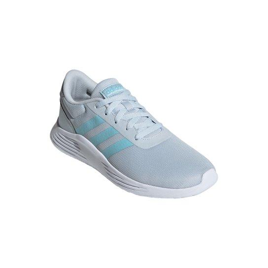 Tênis Adidas Lite Racer 2.0 Feminino - Azul+Azul claro