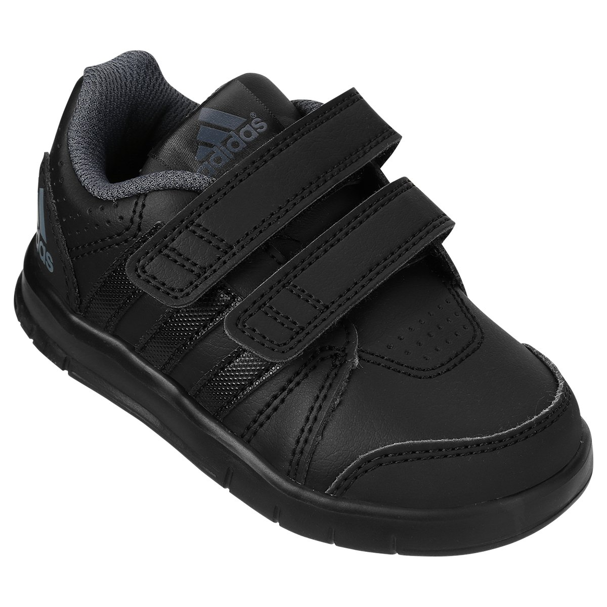 79f08570ebf Tênis Adidas Lk Trainer Cf I Synth Infantil - Preto - Compre Agora ...