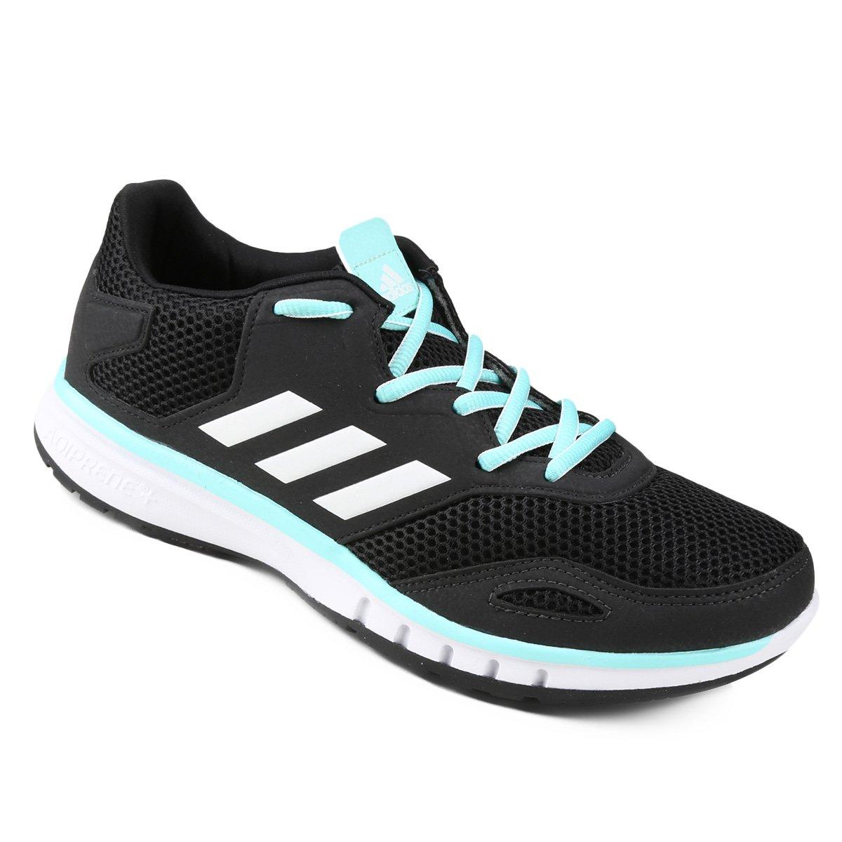 1450894450 Tênis Adidas Protostar Feminino - Preto e Azul claro - Compre Agora ...