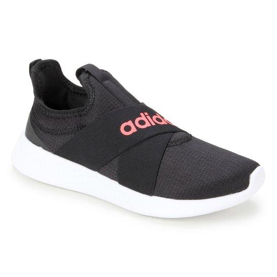 Tênis Adidas Puremotion Adapt Feminino - Preto+Rosa