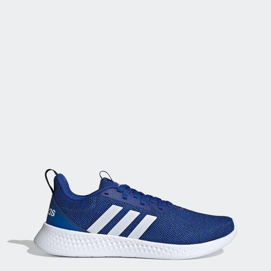 Tênis Adidas Puremotion Masculino - Azul Royal+Branco