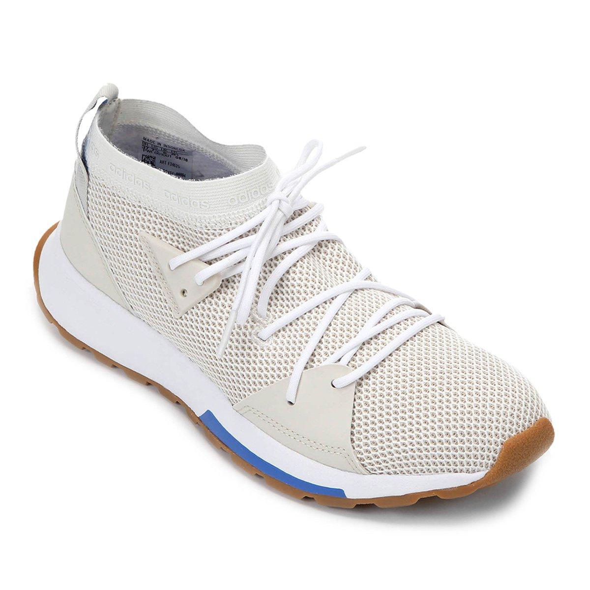 b3b518bedf3 Tênis Adidas Quesa Feminino - Cinza e Azul - Compre Agora