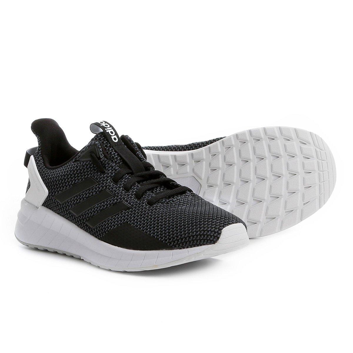 4358b330c2 Tênis Adidas Questar Ride Feminino - Preto+Cinza. R$ 349,99