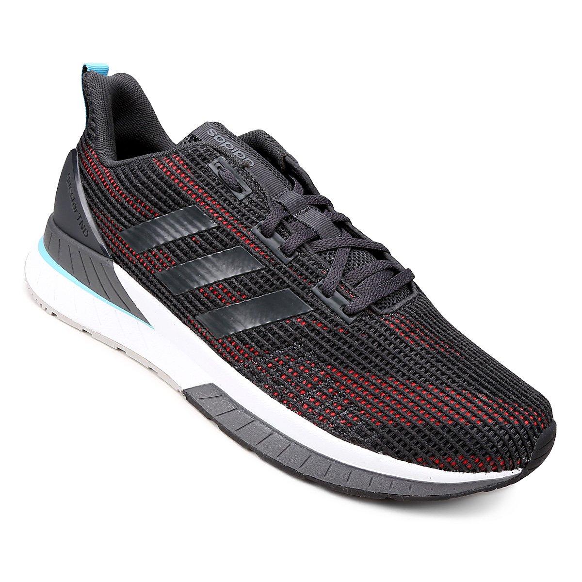 5ceeb5e9d71 Tênis Adidas Questar TND Masculino - Cinza e Laranja - Compre Agora ...