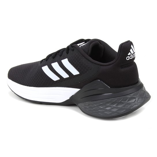 Tênis Adidas Response SR Masculino - Preto+Branco