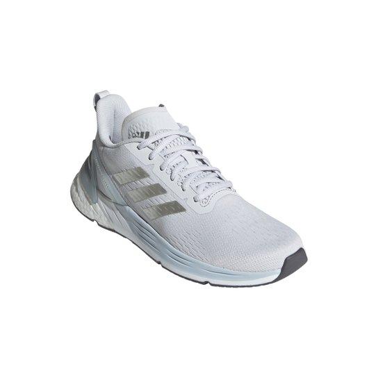 Tênis Adidas Response Super Boost Feminino - Prata+Cinza