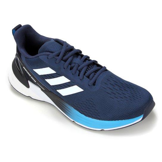 Tênis Adidas Response Super Boost Masculino - Azul+Branco