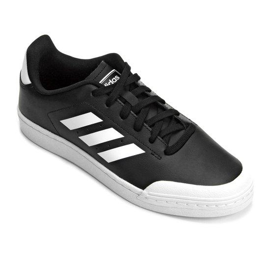 Tênis Adidas Retro Court Wild Card Masculino - Branco+Preto