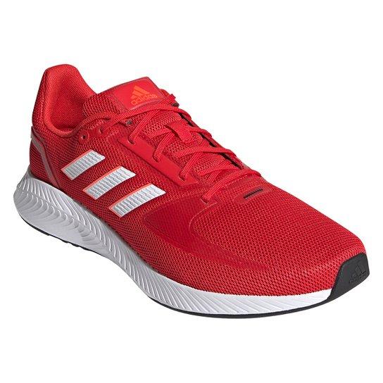 Tênis Adidas Runfalcon 2.0 Masculino - Vermelho+Branco