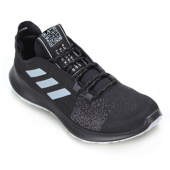 Tênis Adidas Sensebounce + Ace Masculino - Preto+Branco