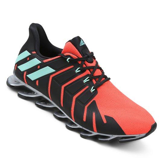 Tênis Adidas Springblade Pro Feminino - Laranja+Preto
