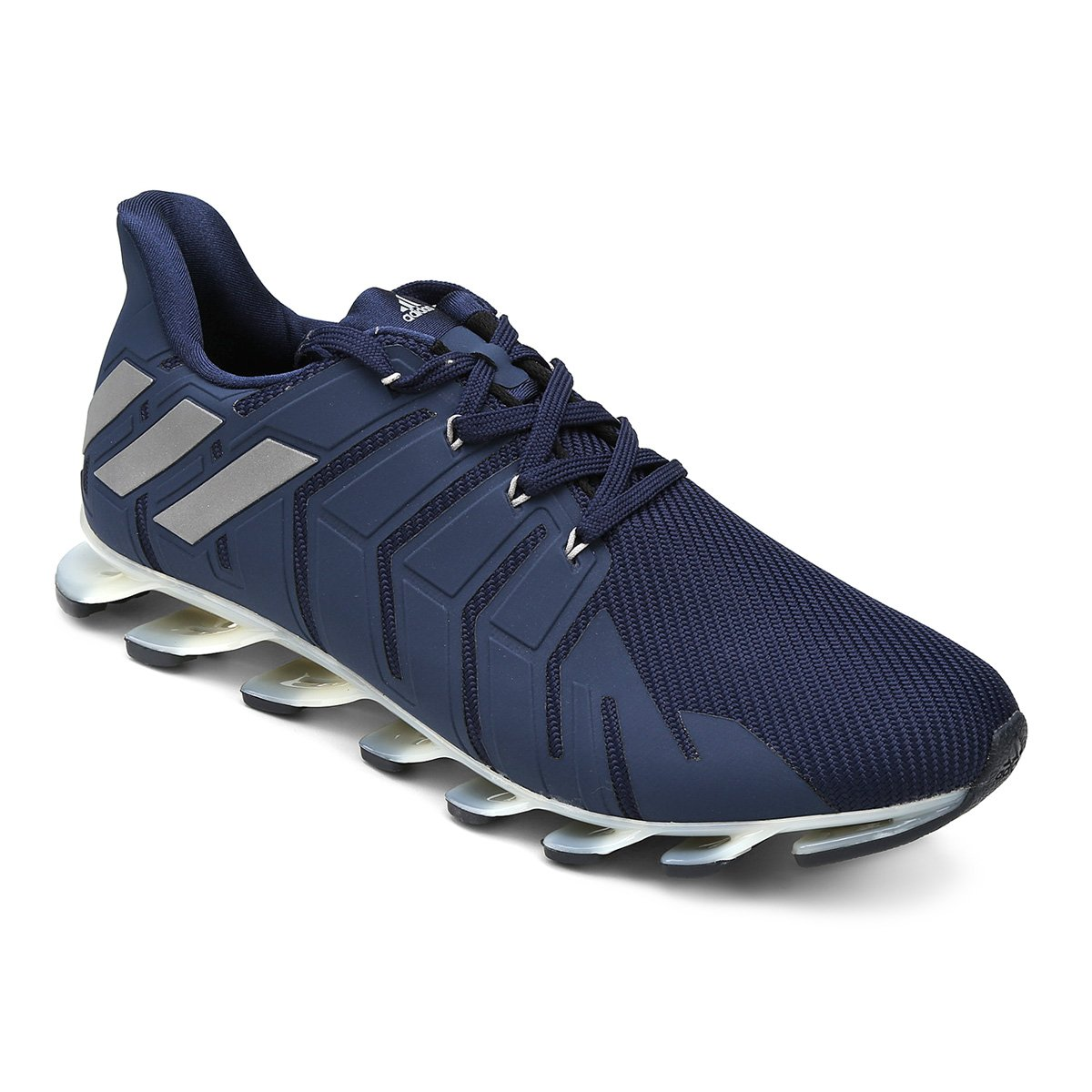 fd78e15ab40 Tênis Adidas Springblade Pro Masculino - Marinho e Branco - Compre Agora