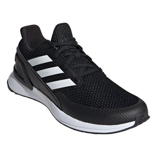Tênis Adidas Ultra Rapidarun Masculino - Preto+Branco