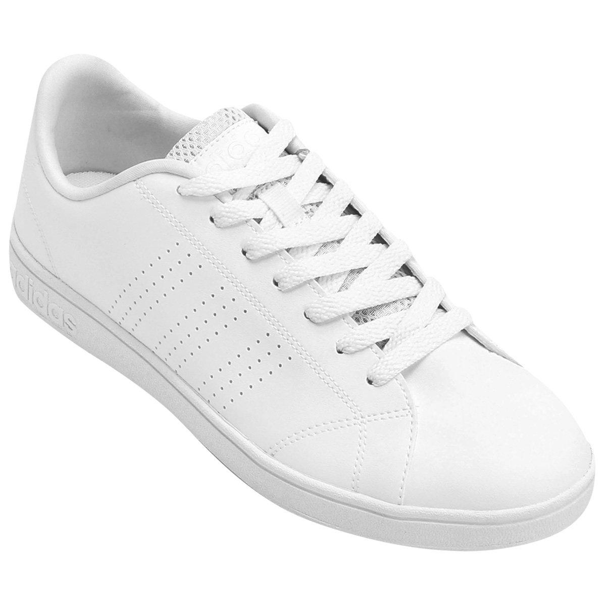 Tênis Adidas Vs Advantage Clean Masculino - Branco - Compre Agora ... e3f74ef795051