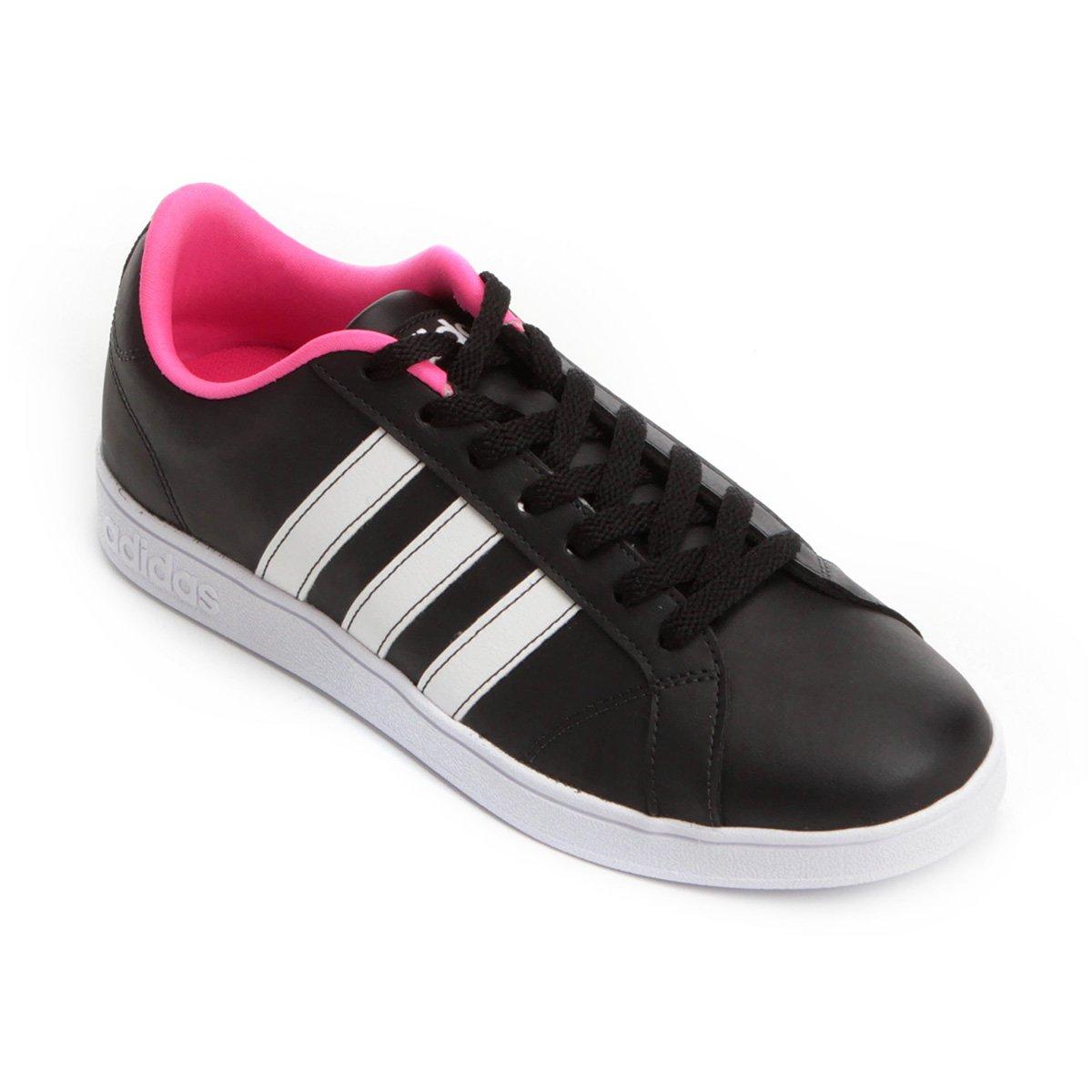 60df283477 Tênis Adidas Vs Advantage Feminino - Preto - Compre Agora