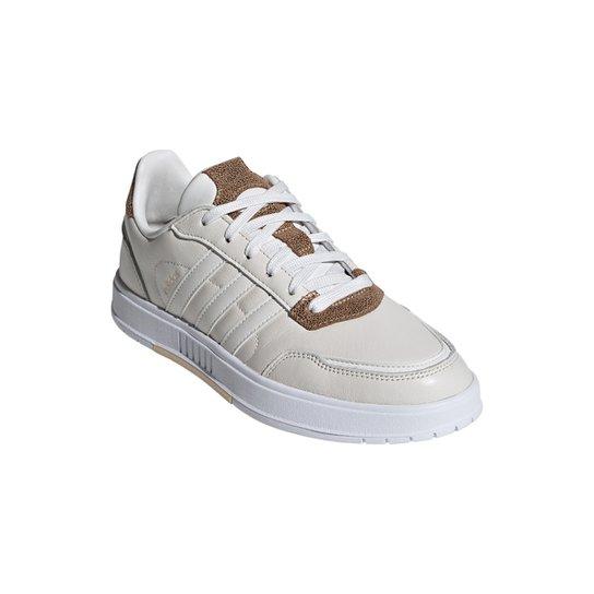 Tênis Couro Adidas Courtmaster Feminino - Branco