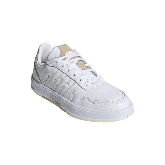 Tênis Couro Adidas Courtmaster Masculino - Branco