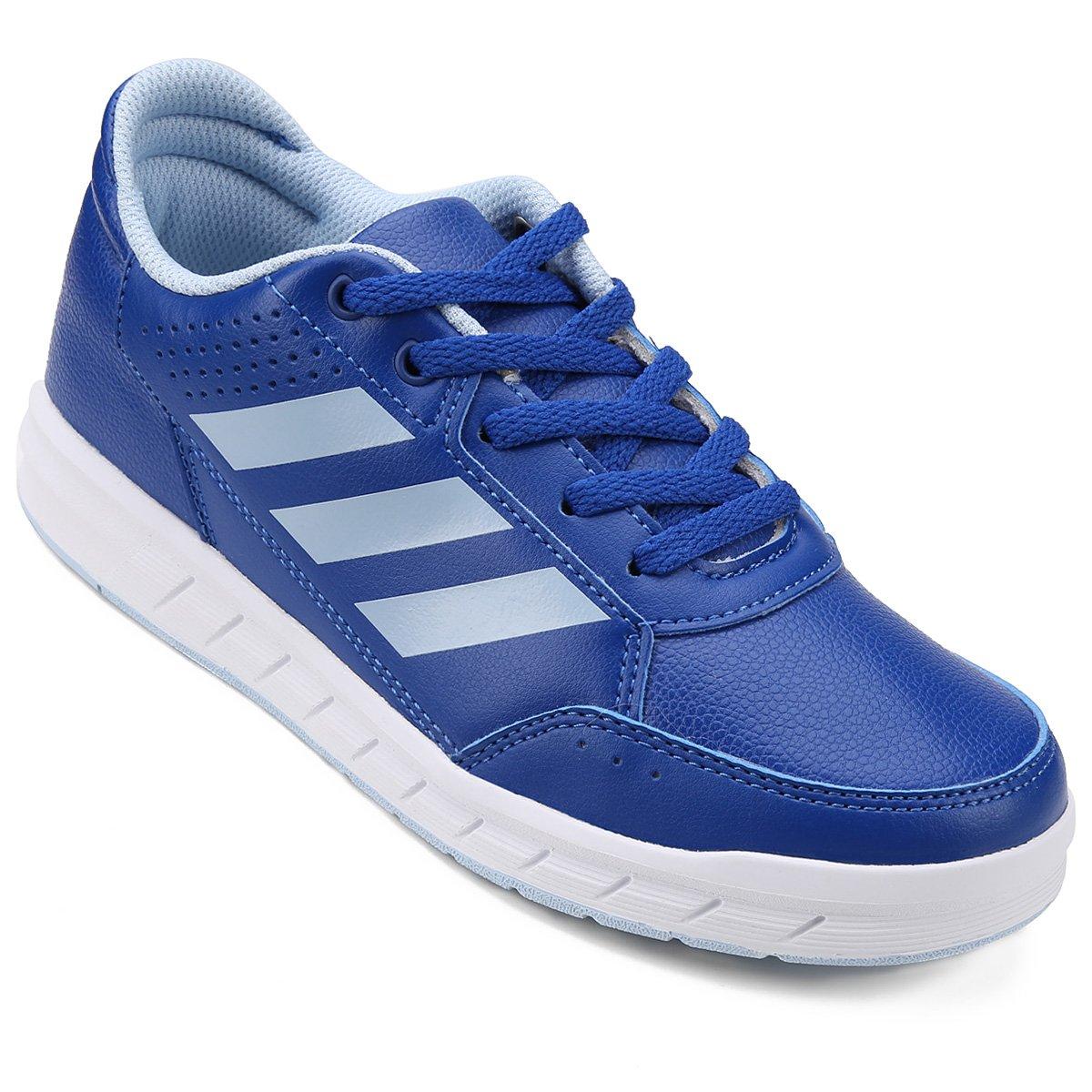 9de82529a89 Tênis Infantil Adidas Altasport K - Azul e Branco - Compre Agora ...
