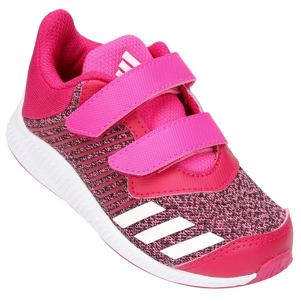58daa533e Tênis Infantil Adidas Fortarun Cf I - Pink - Compre Agora