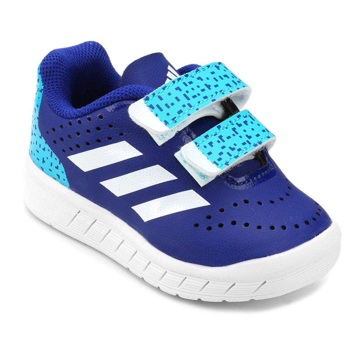 2af3ddbfe1 Tênis Infantil Adidas Quicksport Cf - Azul - Compre Agora