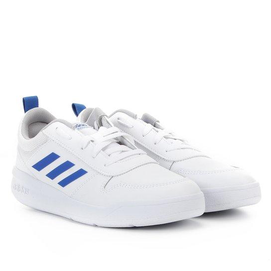Tênis Infantil Adidas Tensaur K - Azul+Branco