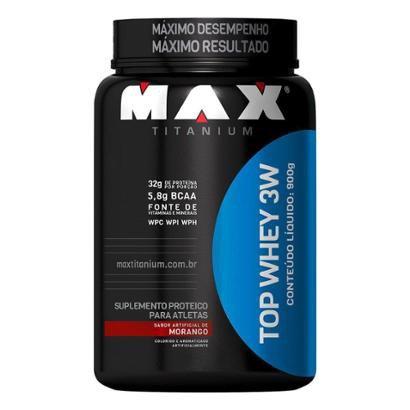 Top Whey 3W 900 g - Max Titanium