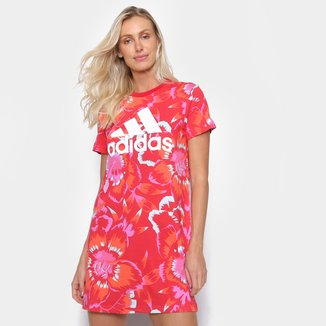 Vestido Adidas Farm Rio Floral Full Print