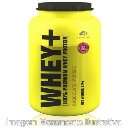 Whey Protein + 2 kg - 4+ Nutrition