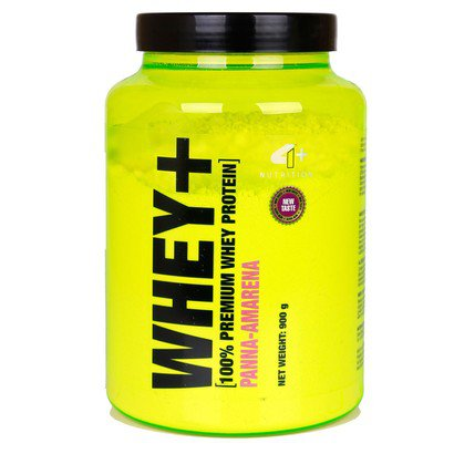 Whey Protein + 900 g - 4+ Nutrition