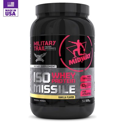 Whey Protein Military Trail Isolado Missile 930 g - Midway USA